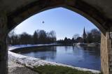 Abingdon through the Bridge