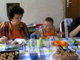 Sebastian & Grandma