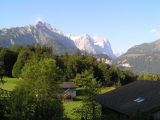 On to Switzerland...this is the view from our Reuti porch