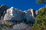 Mount Rushmore... from the Ground