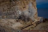 Close-Up of Blasting at Crazy Horse site