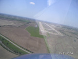 Approach to old Eakers AFB now AR Regional  11,500ft runway 18/36