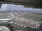 Departing AR Regional-Parking for B-52s on the right