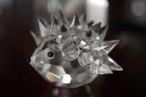 Glass hedgehog