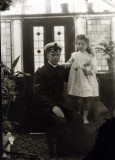 grandfather and my mother  around 1915