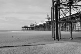 a cold day in Blackpool
