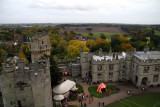 looking down on the castle