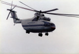 It's big it's Russian of course it's a helicopter