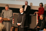 Richard Dawkins receives honorary degree at University of Antwerp