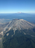 Mt St. Helens and Mt. Rainer