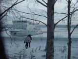 Icebreaker on the Severnaya Dvina