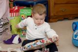 Christmas  2005                                      Benji- Stephanie-Treg