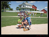 On the mound at Field of Dreams