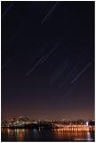 Star Trails Over Manhattan