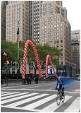 Biker on 5th Avenue