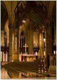 A Cross at Saint Patrick's Cathedral