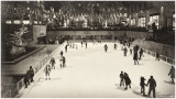 Rockefeller Center Ice Rink Vintage
