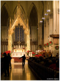 Sunday Mass at Saint Patrick's Cathedral - The Collection