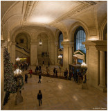 New York Public Library Lobby