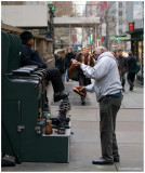 Shoe Shine on 42nd and 5th Avenue