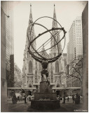 Atlas & Saint Patrick's Cathedral Vintage