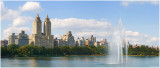 Jacqueline Kennedy Onassis Reservoir Fountain Panorama