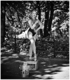 Central Park Ballerina Mime