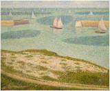 Georges-Pierre Seurat - Port en Bessin