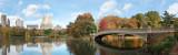 Bow Bridge On The Lake