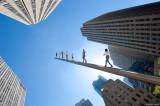 Jonathan Borofsky's Walking to the Sky