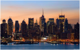 A Winter Sunrise Over Manhattan 2