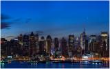 Jupiter Rising Over Manhattan