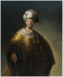Rembrandt's Man in Oriental Costume