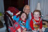 GrandPa reads to Boys 02-10-2011