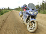 Tough Road Conditions on the Dalton Hwy