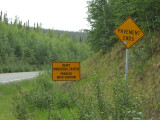 The First Indication of What Lies Ahead on the Dalton Highway