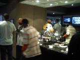 HOF Suite Catering Spread