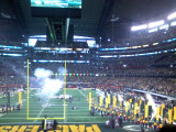 Packers Take the Field