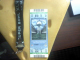 Super Bowl XLV Ticket