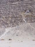 Entrance to the Senefru Pyramid at Dashur