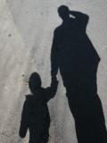 Walking around a bit with Dad.
