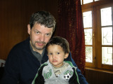 [Photo by Nodoon of Rahil and Dad]