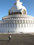First time to Shanti Stupa.