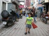 Strolling through Kahn Market
