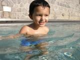 More late-season swimming!