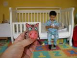 Rahil's finger puppet