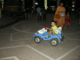 Zooming around at Ansul Plaze