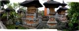 Hindu cemetary in Ubud.