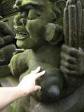 Fertility statue, Ubud, Bali