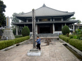 The Japanese temple at Sarnath.